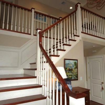 Quarter turn staircase