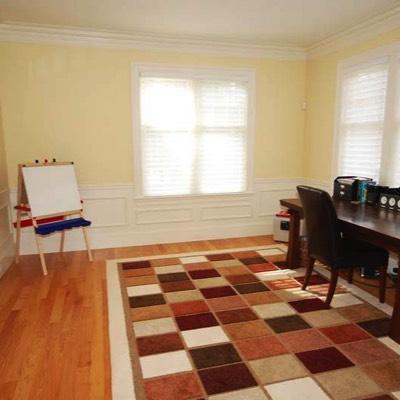 Tile rug office