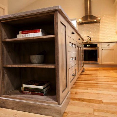 Low angle cabinets