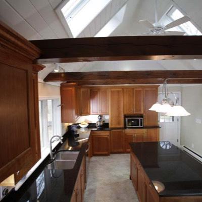 Overhead shot kitchen